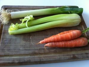 verduras caldo