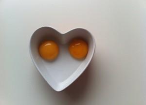 yemas huevo