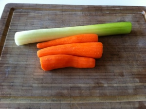 zanahoria puerro