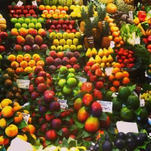 fruta boqueria