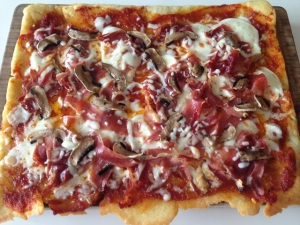 arepa pizza