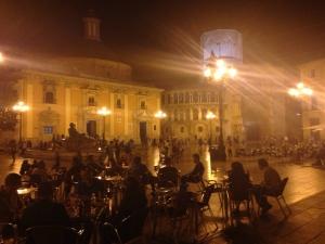 plaza catedral valencia
