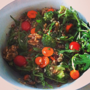 super ensalada brocoli