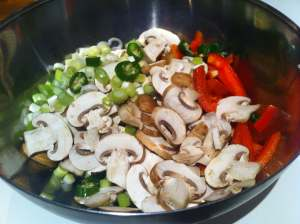 verduras listas