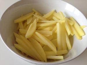 patatas a tiras