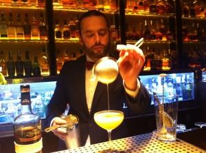 Alfredo coctel zacapa