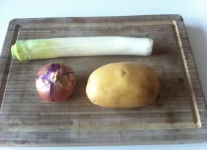 patata cebolla puerro