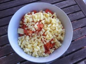 preparando mermelada