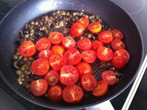 tomates a la sarten