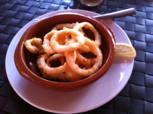 calamares en republica sunset bar