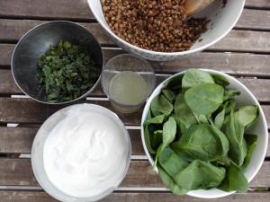 ingredientes bocaditos vegetarianos