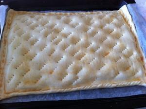 preparando empanada