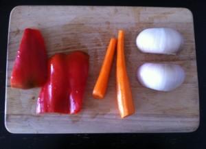 verduras lentejas