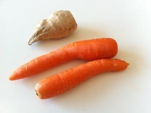 zanahoria jengibre