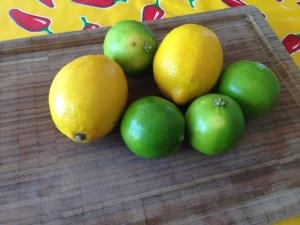 limones y limas