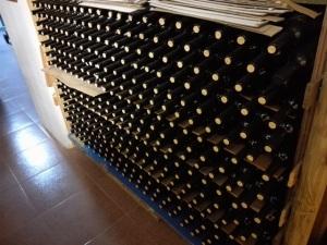 botellas almacenadas