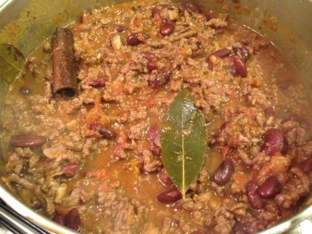 guiso chile con carne