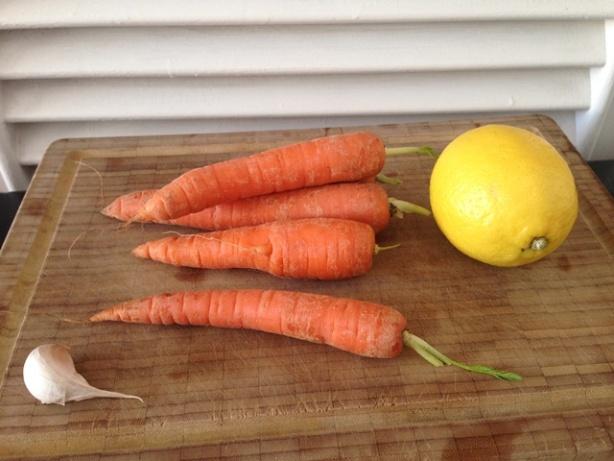 zanahoria limon ajo