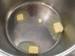 derrito mantequilla